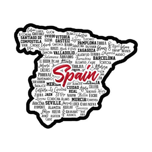 Scrapbook Customs - Sights Collection - Laser Cut - City - Spain