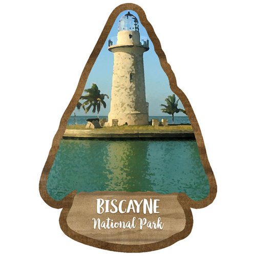 Scrapbook Customs - United States National Parks Collection - Laser Cut - Watercolor - Biscayne National Park