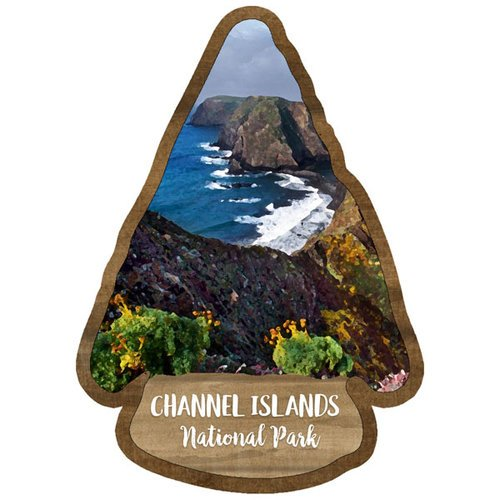 Scrapbook Customs - United States National Parks Collection - Laser Cut - Watercolor - Channel Islands National Park