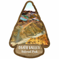 Scrapbook Customs - United States National Parks Collection - Laser Cut - Watercolor - Death Valley National Park