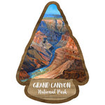 Scrapbook Customs - United States National Parks Collection - Laser Cut - Watercolor - Grand Canyon National Park
