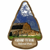 Scrapbook Customs - United States National Parks Collection - Laser Cut - Watercolor - Grand Teton National Park