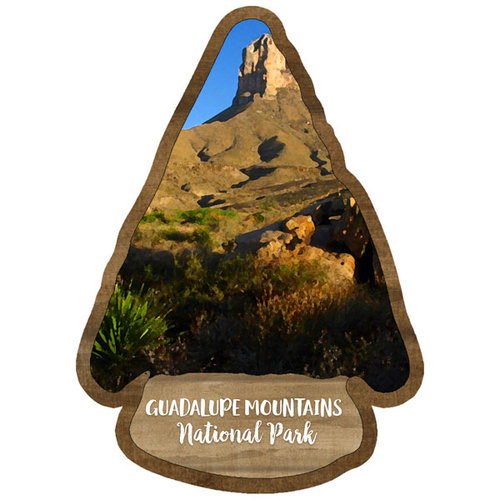 Scrapbook Customs - United States National Parks Collection - Laser Cut - Watercolor - Guadalupe Mountains National Park