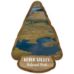Scrapbook Customs - United States National Parks Collection - Laser Cut - Watercolor - Kobuk Valley National Park