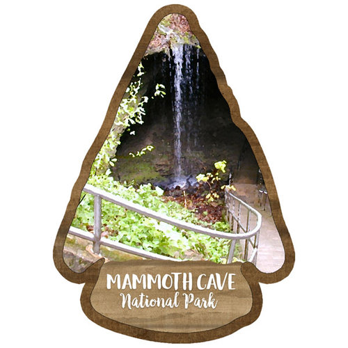 Scrapbook Customs - United States National Parks Collection - Laser Cut - Watercolor - Mammoth Cave National Park