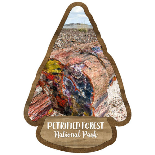 Scrapbook Customs - United States National Parks Collection - Laser Cut - Watercolor - Petrified Forest National Park