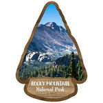Scrapbook Customs - United States National Parks Collection - Laser Cut - Watercolor - Rocky Mountain National Park