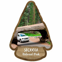 Scrapbook Customs - United States National Parks Collection - Laser Cut - Watercolor - Sequoia National Park