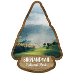 Scrapbook Customs - United States National Parks Collection - Laser Cut - Watercolor - Shenandoah National Park