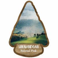 Scrapbook Customs - United States National Parks Collection - Laser Cut - Watercolor - Shenandoah National Park