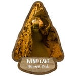 Scrapbook Customs - United States National Parks Collection - Laser Cut - Watercolor - Wind Cave National Park
