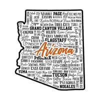 Scrapbook Customs - State Sights Collection - Laser Cut - Arizona