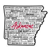 Scrapbook Customs - State Sights Collection - Laser Cut - Arkansas