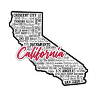 Scrapbook Customs - State Sights Collection - Laser Cut - California