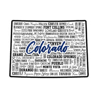 Scrapbook Customs - State Sights Collection - Laser Cut - Colorado