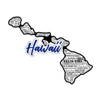 Scrapbook Customs - State Sights Collection - Laser Cut - Hawaii