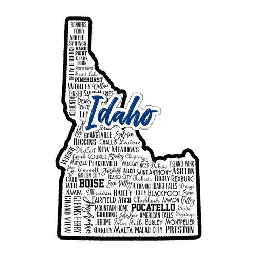 Scrapbook Customs - State Sights Collection - Laser Cut - Idaho