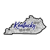 Scrapbook Customs - State Sights Collection - Laser Cut - Kentucky