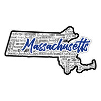 Scrapbook Customs - State Sights Collection - Laser Cut - Massachusetts