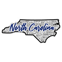 Scrapbook Customs - State Sights Collection - Laser Cut - North Carolina