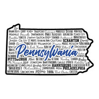 Scrapbook Customs - State Sights Collection - Laser Cut - Pennsylvania