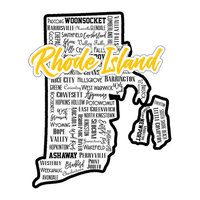 Scrapbook Customs - State Sights Collection - Laser Cut - Rhode Island