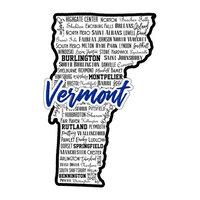 Scrapbook Customs - State Sights Collection - Laser Cut - Vermont