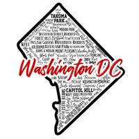 Scrapbook Customs - State Sights Collection - Laser Cut - Washington DC