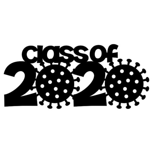 Scrapbook Customs - Graduation Collection - Laser Cuts - Class of 2020 - Covid-19