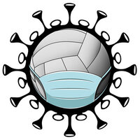 Scrapbook Customs - Covid-19 Collection - Laser Cuts - Volleyball