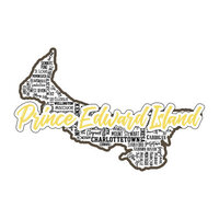 Scrapbook Customs - Sights Collection - Stickers - Prince Edward Island Canada