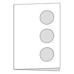 Scrapbook Customs - Card - Three Circle