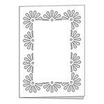 Scrapbook Customs - Card - Flower Border