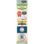 Scrapbook Customs - Vintage Label Collection - Cardstock Stickers - Virginia Vintage