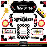Scrapbook Customs - 12 x 12 Cardstock Stickers - Magical Memories