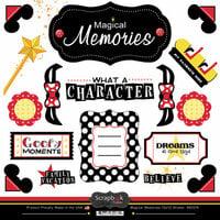 Scrapbook Customs - 12 x 12 Cardstock Stickers - Magical Memories