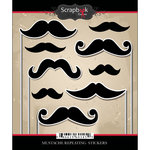 Scrapbook Customs - Cardstock Stickers - Mustaches