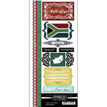 Scrapbook Customs - World Collection - Cardstock Stickers - Explore - South Africa