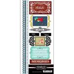 Scrapbook Customs - World Collection - Cardstock Stickers - Explore - Asia