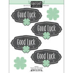 Scrapbook Customs - Card Craft Stickers - Good Luck with Clovers