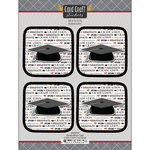 Scrapbook Customs - Card Craft Stickers - Graduation Cap