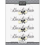 Scrapbook Customs - Card Craft Stickers - Graduation with Scroll