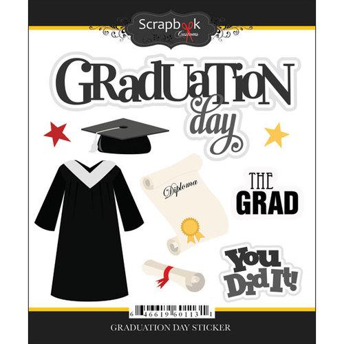 Scrapbook Customs - Cardstock Stickers - Graduation Day