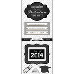 Scrapbook Customs - Card Craft Plaque Sticker - Class of 2014