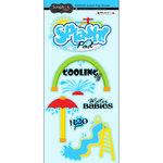 Scrapbook Customs - Cardstock Stickers - Splash Pad