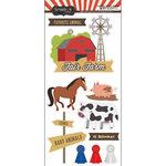 Scrapbook Customs - Fun at the Fair Collection - Cardstock Stickers - Fair Farm