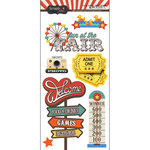 Scrapbook Customs - Fun at the Fair Collection - Cardstock Stickers