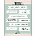 Scrapbook Customs - Cardstock Stickers - Wedding Banners
