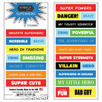 Scrapbook Customs - Superhero Collection - Cardstock Stickers - Word