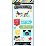 Scrapbook Customs - Cardstock Stickers - Magical Vacation